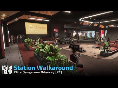 Elite Dangerous Odyssey Station Walkaround PC Gaming Trend