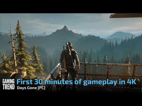 Days Gone - First 30 minutes of gameplay - RTX 3080 [PC] - [Gaming Trend]