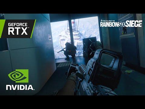 Rainbow Six Siege   Official NVIDIA DLSS Reveal Trailer