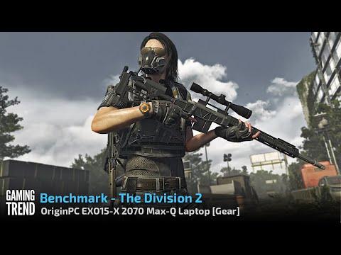OriginPC EON15-X 2070 Max-Q AMD Laptop - Benchmark - The Division 2 [Gaming Trend]