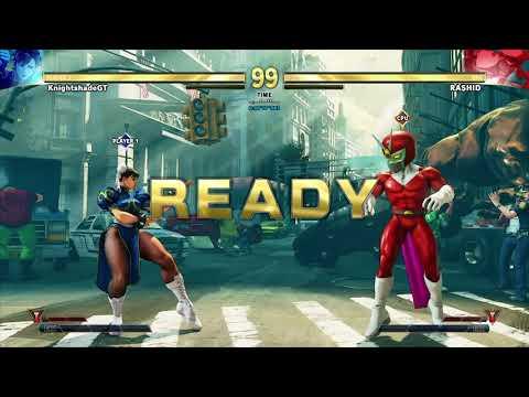 Street Fighter V Arcade Edition - 1080p at 60fps - Chun-Li vs Viewtiful Joe Rashid [Gaming Trend]