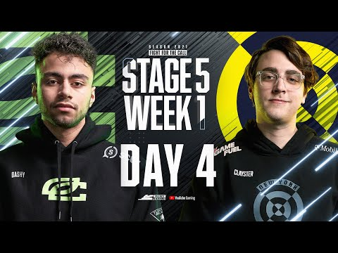 Call Of Duty League 2021 Season | Stage V Week 1 — New York Home Series | Day 4