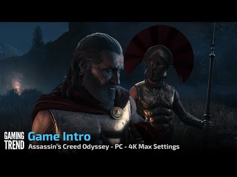 Assassin's Creed Odyssey - Introduction sequence - PC 4K - [Gaming Trend]