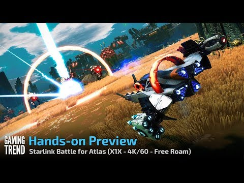 Starlink Battle for Atlas - Let's Play Preview - Free Roaming- 4K Xbox One X [Gaming Trend]