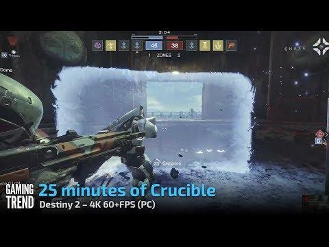 Destiny 2 PC - 25 minutes of Crucible (4K 60+FPS)