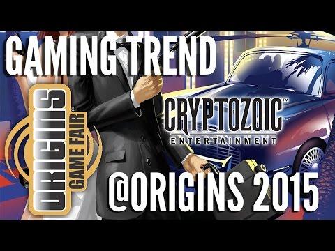 Cryptozoic @ Origins 2015 - [Gaming Trend]