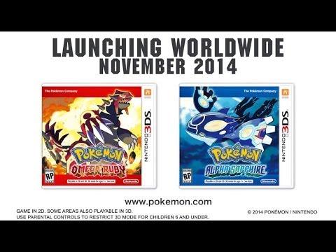 Pokémon Omega Ruby and Pokémon Alpha Sapphire – November 2014!