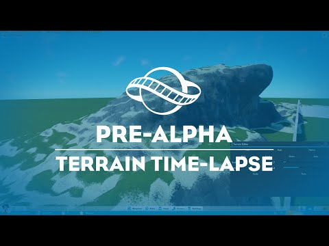 Terrain Editing Time Lapse