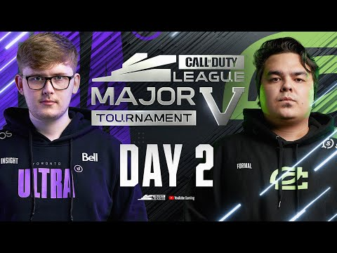 Call Of Duty League 2021 Season | Stage V Major Tournament | Day 2