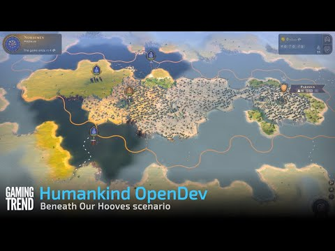Humankind OpenDev 2 - Beneath Our Hooves scenario [Gaming Trend]