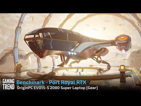 OriginPC EVO-15S - Port Royal Benchmark [Gaming Trend]