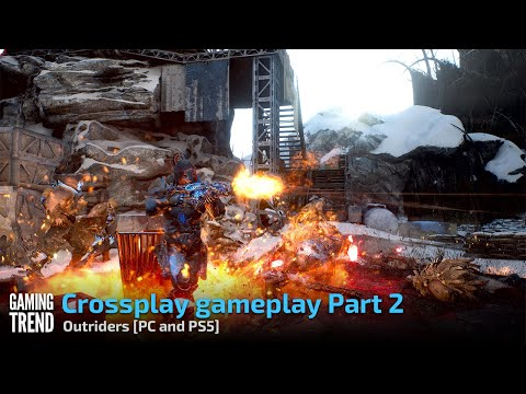 Outriders on PS5 and PC Crossplay Gameplay - Part 2 - [Gaming Trend]