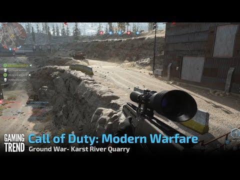 Call of Duty: Modern Warfare Ground War- Karst River Quarry