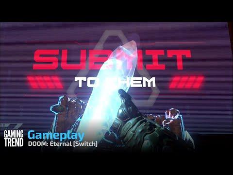 DOOM: Eternal Gameplay - Switch [Gaming Trend]