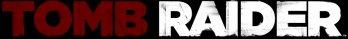 Tomb Raider logo on black