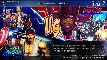 Ultimate Marvel Vs Capcom Vita 16