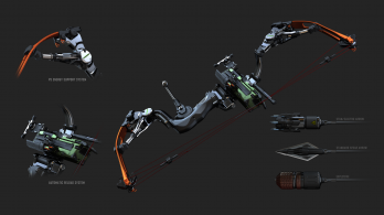 Crysis 3 - Bow Concept Art