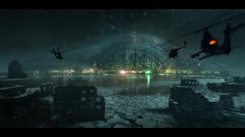 Crysis 3 - NYC Liberty Dome Concept Art
