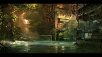 Crysis 3 - River Concept Art