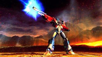 Transformers Prime_Wii U screenshot_Optimus Prime hero shot