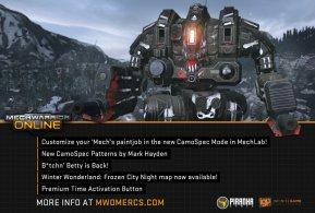 MechWarrior Online Camo Patch - 02