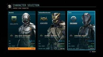 Character-Selection
