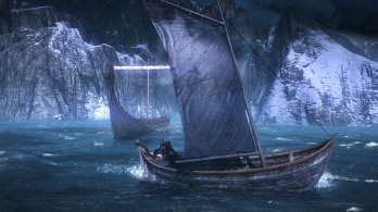 7_The_Witcher_3_Wild_Hunt_Boat_on_the_Sea