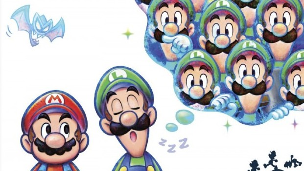 Asleep On The Job Mario Luigi Dream Team Review Gaming Trend