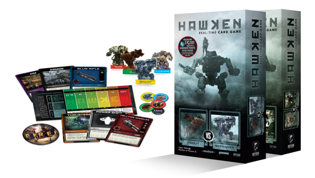 hawken gets its own real