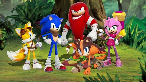 Go Behind the Scenes of Sonic Boom: Shattered Crystal for 3DS