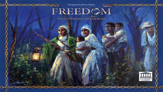 Freedom: The Underground Railroad - Cover