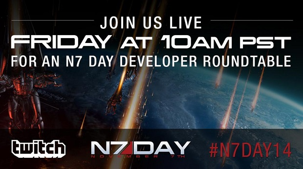 Bioware to Host Mass Effect Developer Roundtable Tomorrow