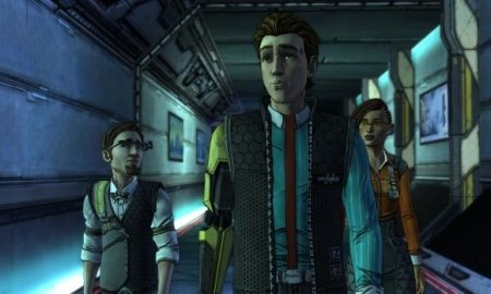 With Tales from the Borderlands' first episode going live today, TellTale has released the series' launch trailer. Tales from the Borderlands stars original characters Rhys and Fiona, as they retell their story in a framed narrative. Players will play as both characters as they give their sides of the story. Gearbox and TellTale's collaboration came from a desire to expand the Borderlands universe in a more story-driven way, as the company's recently revealed in a behind-the-scenes video. TellTale recently revealed the game's cast, which will feature Troy Baker and Laura Bailey as Rhys and Fiona. For more on TellTale's Borderlands adaptation, check out our impressions of the game's showing at E3.