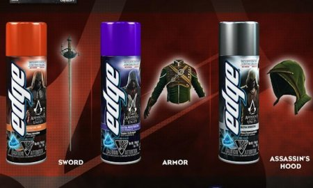 Buying Shaving Gel Will Get You Some Exclusive AC: Unity Content
