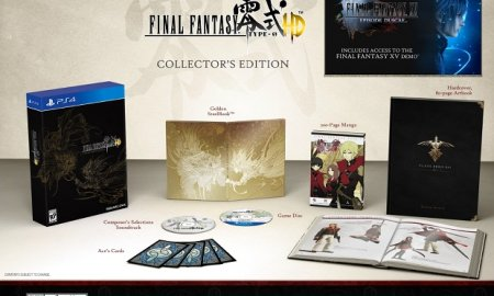 Final Fantasy Type-0 Collector's Edition Revealed, Only First Shipment to Contain FFXV Demo