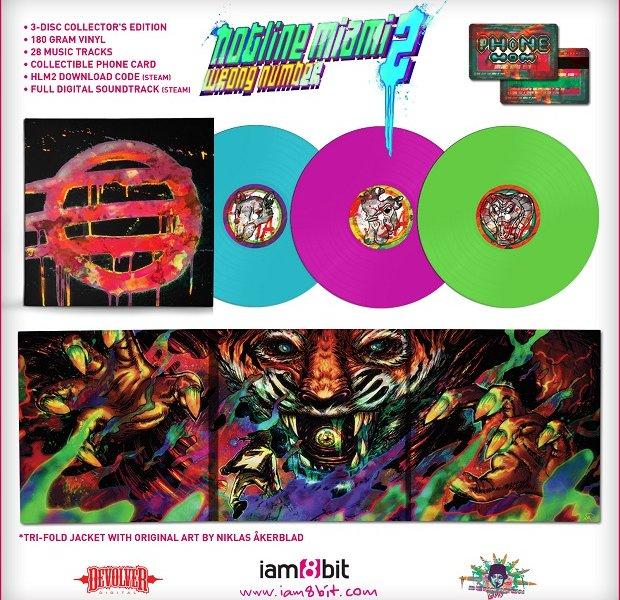 Hotline Miami 2 Gets Vinyl Collector's Edition