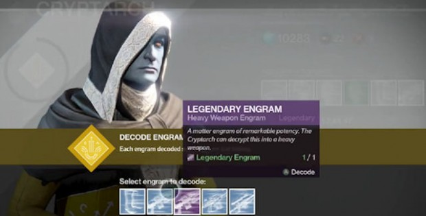 There once was a Guardian who, arrived with an Engram or two. Legendary and rare, but a sordid affair, he only got a bucket of blues.