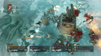 4 PS4 HELLDIVERS Cyborg Snow Truth Transmitter
