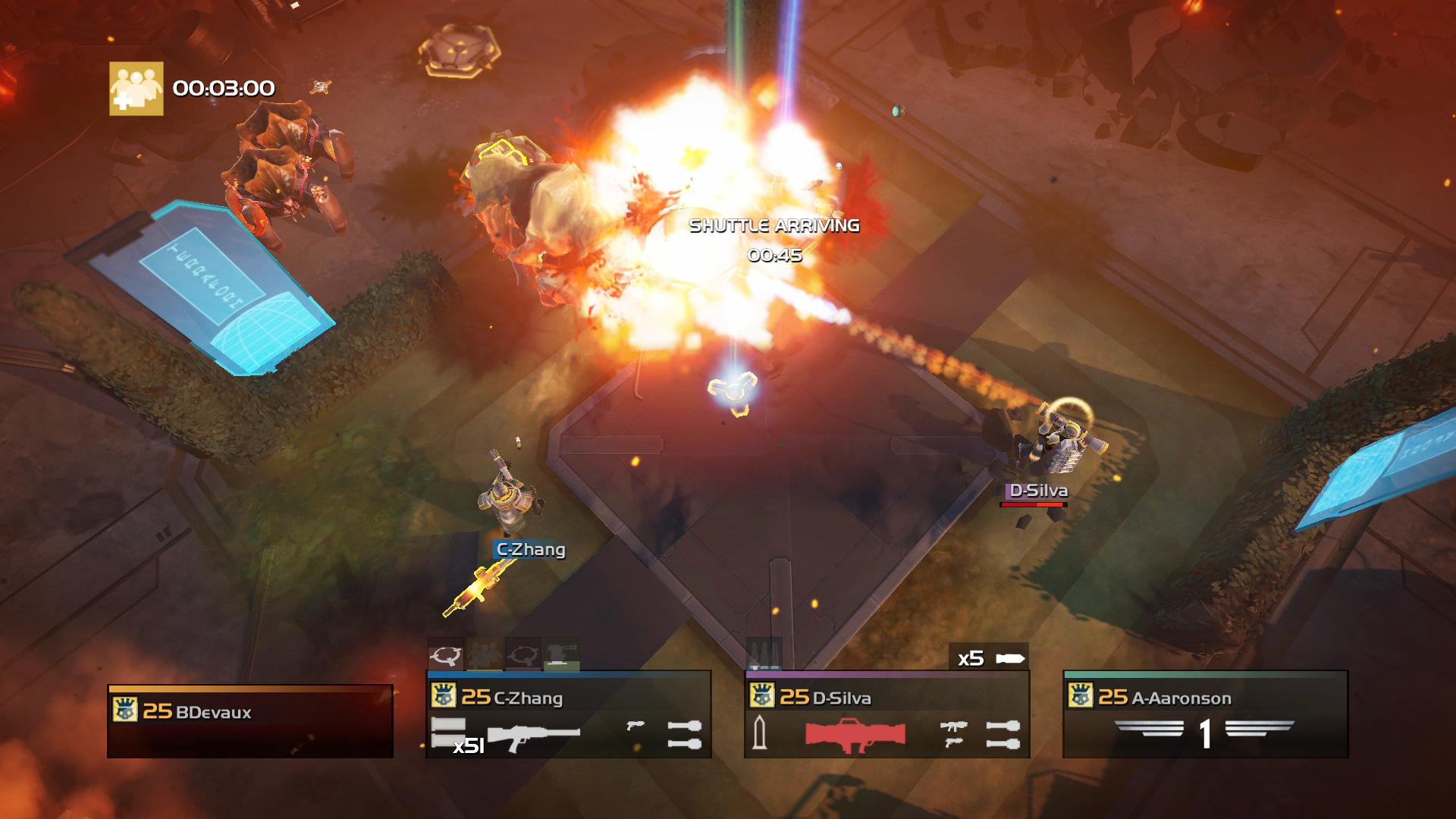 PS4 HELLDIVERS Bug Urban Rocket