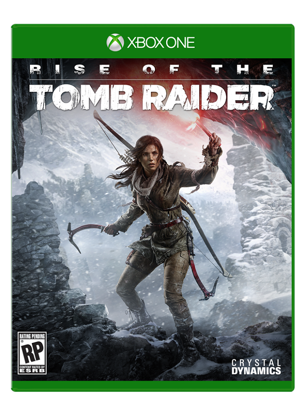 New Rise of the Tomb Raider trailer accompanied by box art