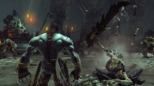 Darksiders II - Before the upgrade. (click for large version)