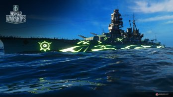 WoWS_Screens_Arpeggio_of_Blue_Steel_Ars_Nova_Kirishima_Kongosister_Image_01