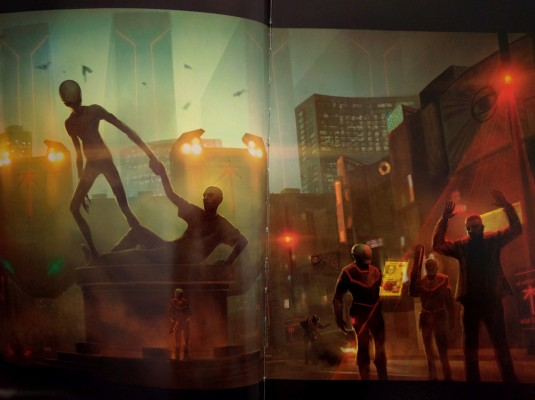 A Terrifying Look At Our Alien Overlords The Art Of Xcom 2