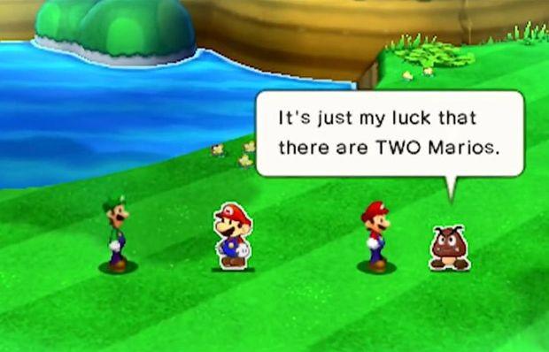 Good On Paper Mario Luigi Paper Jam Review Gaming Trend