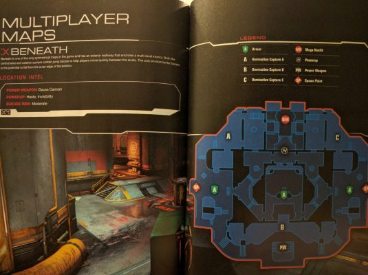 Multiplayer map guides could give you a better chance in the arena.
