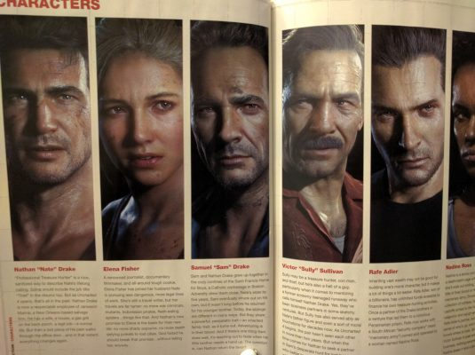 A great cross-section of the characters.