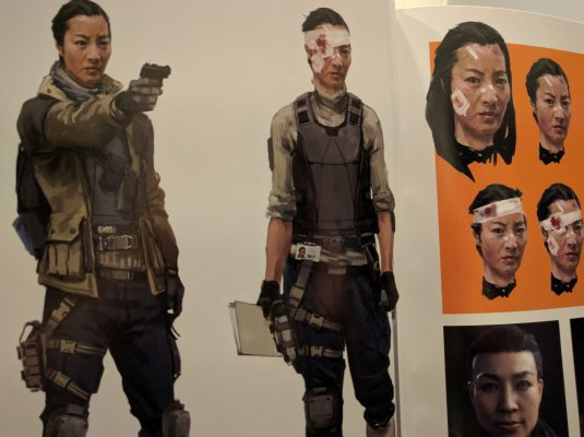 It's very clear they had someone in mind for Agent Lau.