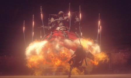 NieR Automata boss screenshot