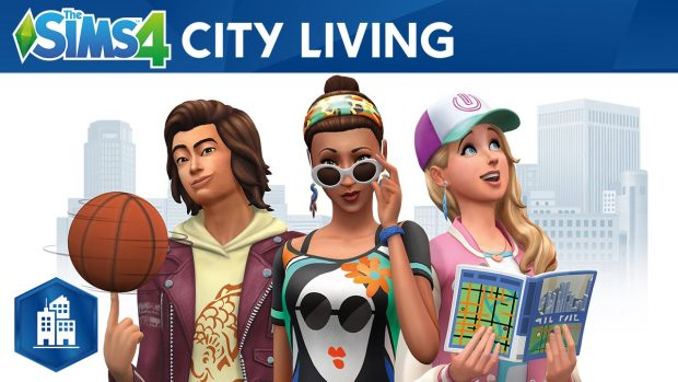 the sims 4 city living game