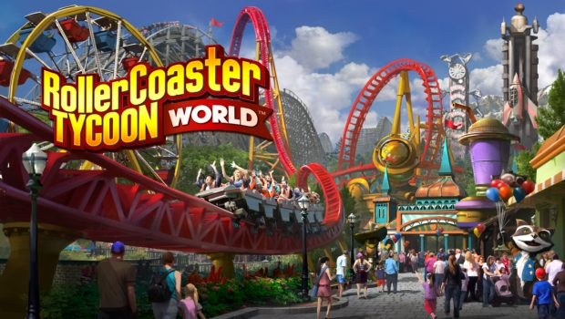 Park is under construction – Rollercoaster Tycoon World review